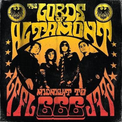 Lords Of Altamont MIDNIGHT TO 666 (ORANGE WITH BLACK SPLATTER VINYL) Vinyl Record
