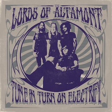 Lords Of Altamont TUNE IN, TURN ON, ELECTRIFY (FLUORESCENT PINK VINYL) Vinyl Record