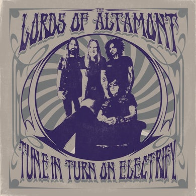 Lords Of Altamont TUNE IN, TURN ON, ELECTRIFY! (CORNETTO TRANSPARENT VINYL WITH PURPLE STRIPES) Vinyl Record