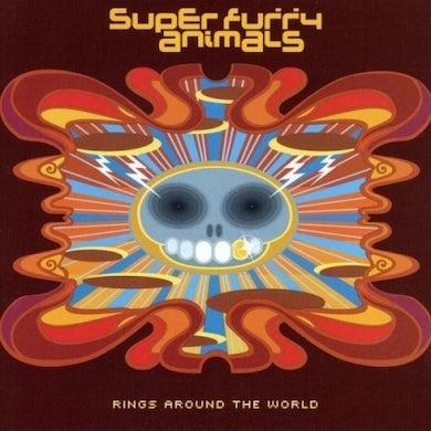 Super Furry Animals RINGS AROUND THE WORLD: 20TH ANNIVERSARY EDITION Vinyl Record