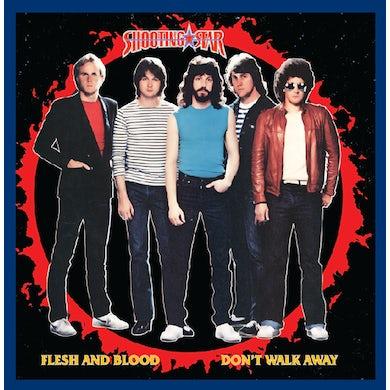 Shooting Star FLESH & BLOOD / DON'T WALK AWAY (ORANGE) Vinyl Record