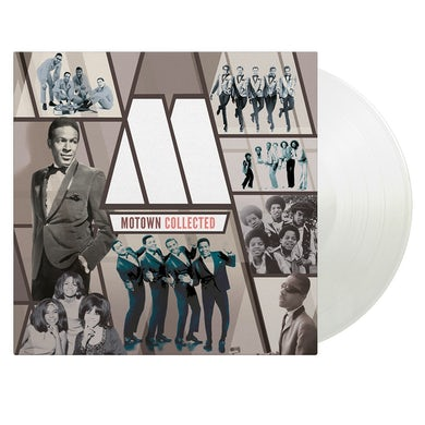 Various Artists MOTOWN COLLECTED (2LP/LIMITED/WHITE VINYL) Vinyl Record