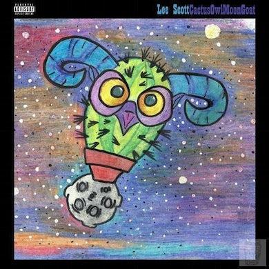 "Lee Scott 'CactusOwlMoonGoat' (Limited Edition Black 12"" Vinyl)"