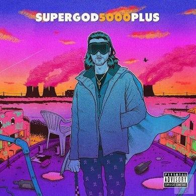 """Lee Scott 'SUPERGOD5000PLUS' (Limited Edition Colour 12"""" Vinyl)"""