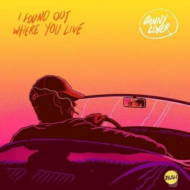 """Danny Lover 'I Found Out Where You Live' (Limited Edition Black 12"""" Vinyl"""