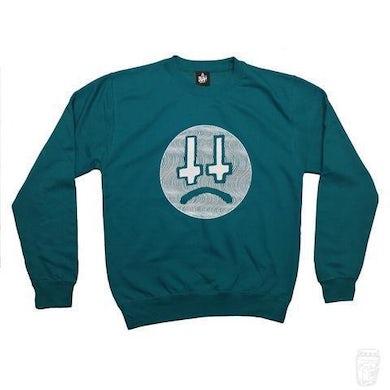 Lee Scott 'Cross Face' Sweatshirt (Jade)