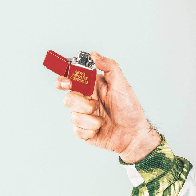 Father John Misty God's Favorite Customer Lighter