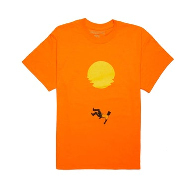 Khalid 'Suncity' Tee + Digital Download - Orange