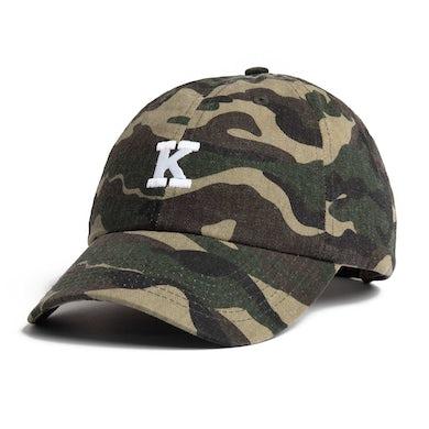 Khalid 'K' Logo Dad Hat - Camo