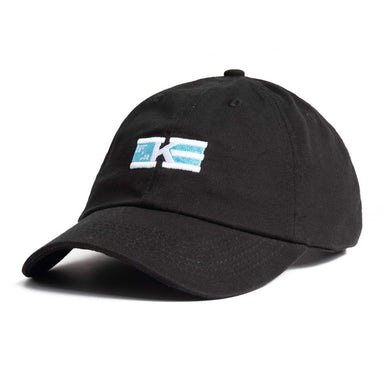 Khalid 'Flag' Logo Dad Hat - Black