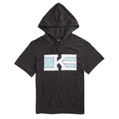 Khalid 'Flag' Logo Short Sleeve Hoodie