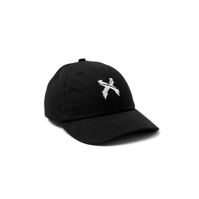 Excision 'Sliced' Logo Dad Hat - Black/White