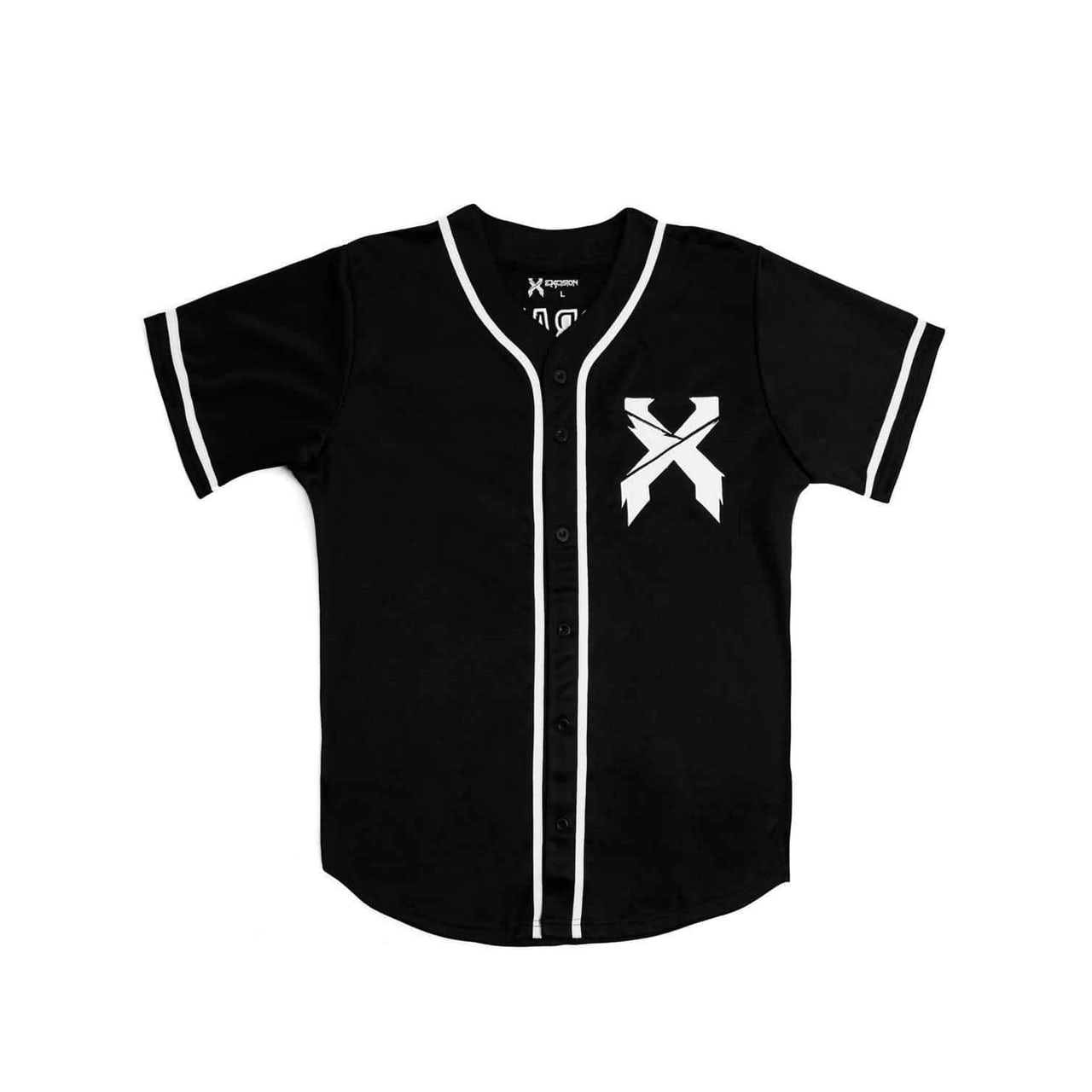 quality design 8a17f 62239 Excision Baseball Jersey - Black/White