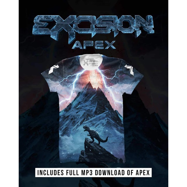 Excision 'APEX' T-Shirt + Album Bundle (Includes MP3 Download)