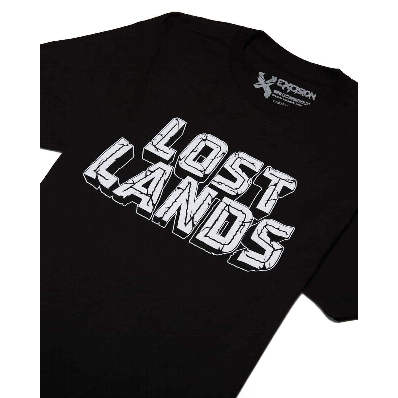 4ca7524a3 Excision Official Lost Lands 2018 Lineup T-Shirt (Black/White). Touch to  zoom