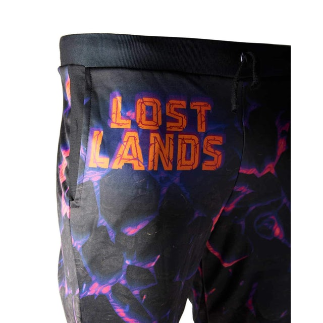 Excision Lost Lands 'Magma' Jogger Sweatpants (Black/Nebula)