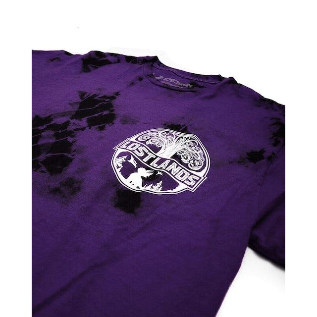 Excision Official Lost Lands Tie Dye T-Shirt - Purple