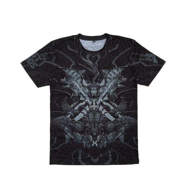 Excision 'DinoX' Dye Sub Tee - Black