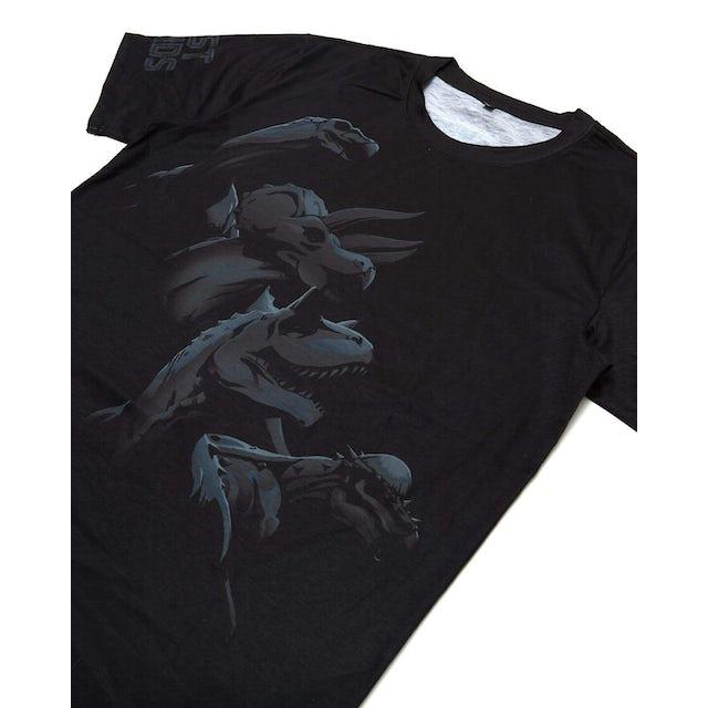 Excision 'Legends' Dye Sub Tee - Black/Grey
