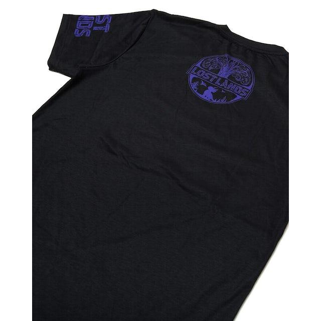 Excision 'Legends' Dye Sub Tee - Black/Purple