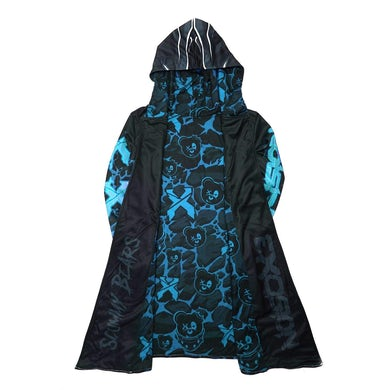 Excision x Scummy Bears Dye Sub Cloak - Blue