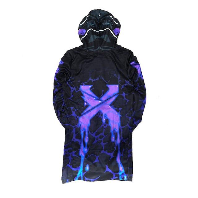 Excision x Scummy Bears Dye Sub Cloak - Purple