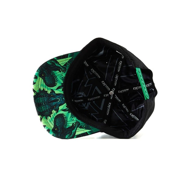 Excision 'DinoX' Snapback - Green