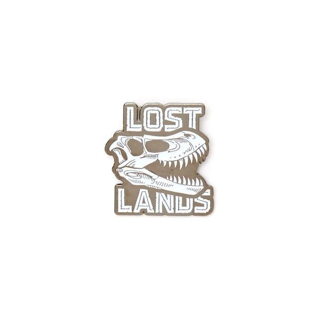 Excision Lost Lands 'Raptor' Enamel Pin - White