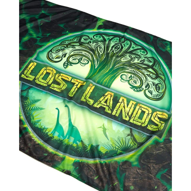 "Excision Lost Lands Flag - 60"" x 36 - Green"