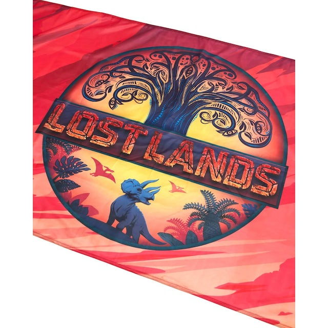 """Excision Lost Lands Flag - 36"""" x 24"""" - Full Color"""