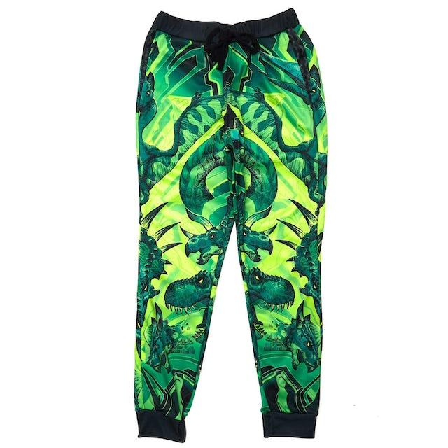 Excision 'DinoX' Dye Sub Joggers - Green