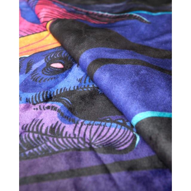 Excision 'DinoX' Blanket - Purple/Yellow/Black