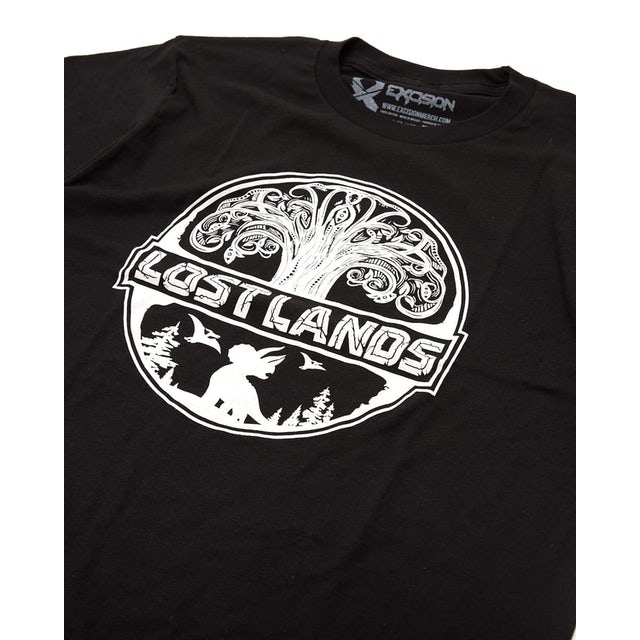 Excision Official Lost Lands 2019 Lineup T-Shirt - Black/White