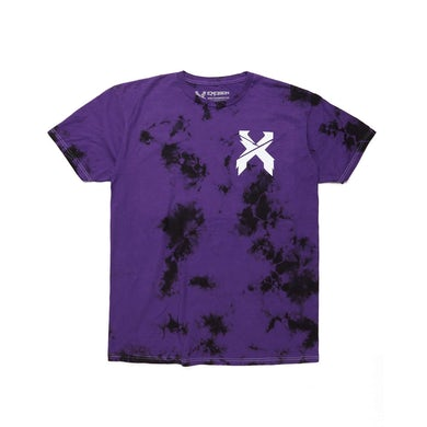 Excision Evolution Tour Tie Dye Tee - Purple/Black