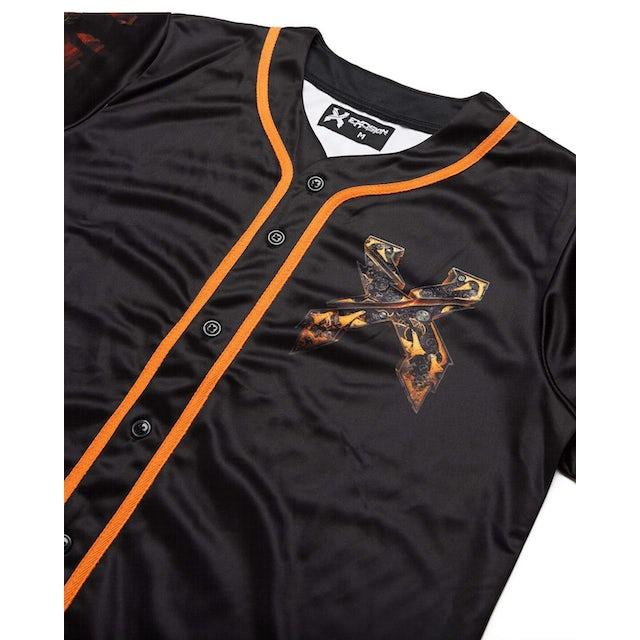 Excision Evolution Tour Baseball Jersey - Black/Orange