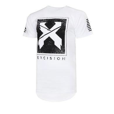 Excision 'Street' Droptail Tee - White