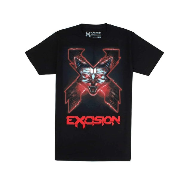 Excision Robokitty Unisex Tee