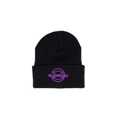 Excision 'Subsidia' Beanie - Black/Purple