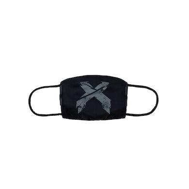 Excision 'Sliced' Logo Face Mask - Black/Grey