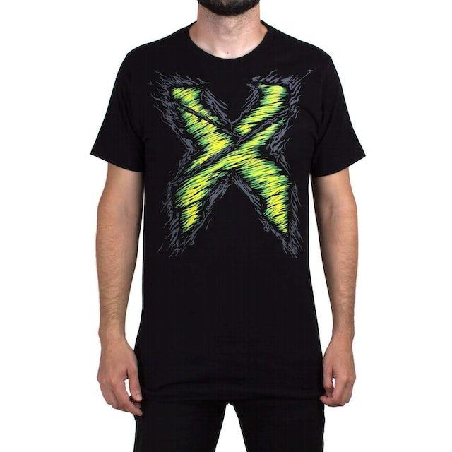 Excision Zombie X Black Unisex T-Shirt