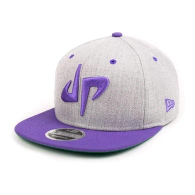 Dude Perfect DP x New Era 9Fifty Snapback // Gray + Purple