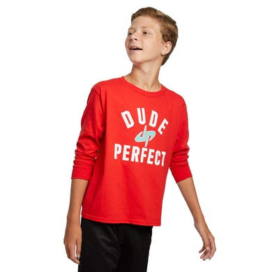 Dude Perfect The G.O.A.T. Long Sleeve Tee