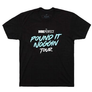 Dude Perfect Official Pound It Noggin Tour 2019 Tee w/ Tour Dates