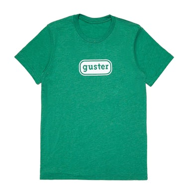 Guster 'Classic Oval' T-Shirt - Heather Grass Green