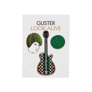 Guster 'Look Alive' Enamel Pins