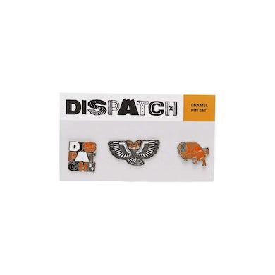 'Dispatch' Enamel Pin Set