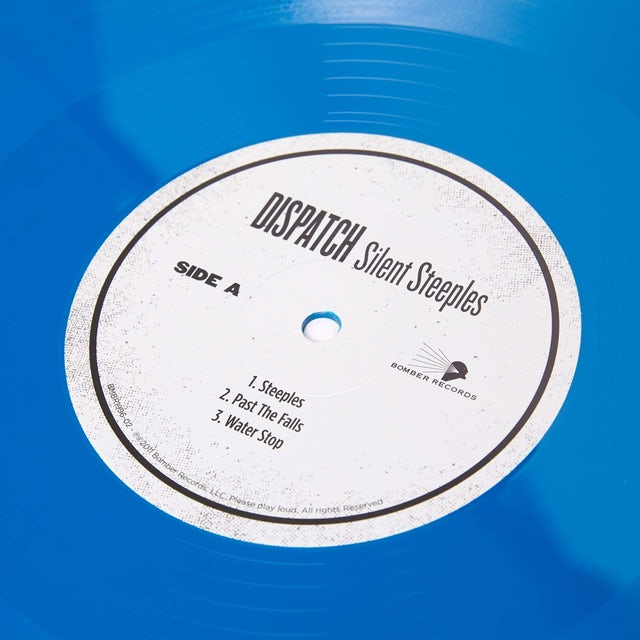 "Dispatch 'Silent Steeples' 12"" Double Vinyl - Blue/Black - LIMITED EDITION"