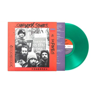 "Dispatch Chadwick Stokes & The Pintos 'Self-Titled' 12"" Vinyl LP - Translucent Green"