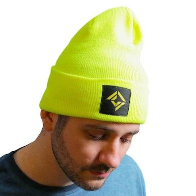 Corridor Digital Cuff Beanie - Neon Yellow