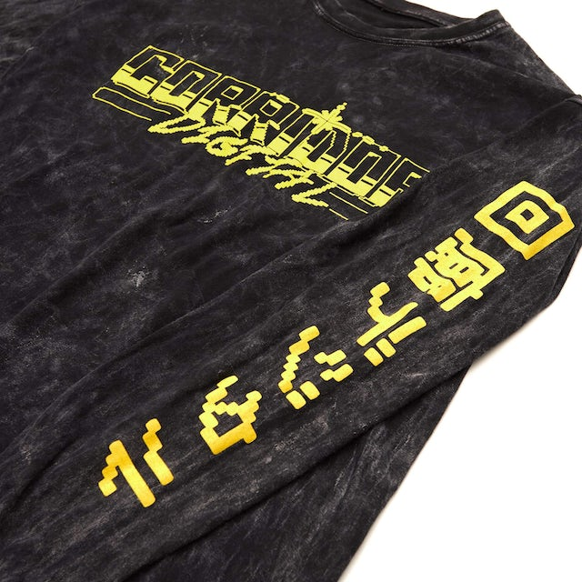 Corridor Digital Corridor '8-Bit Kanji' Long Sleeve Tee